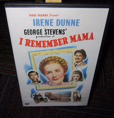 I REMEMBER MAMA DVD MOVIE, IRENE DUNNE, GEORGE STEVENS, B/W 134 MIN. GUC