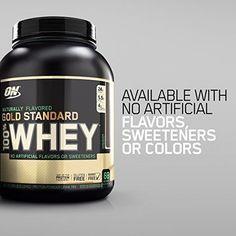 Whey Protein Powder Large Vanilla 24g Protein 4.8 Lb Supplement Instant Healthy #OptimumNutrition