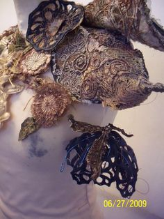 A Level Textiles South Craven School. Textile Design, Textile Art, A Level Textiles, Textiles Sketchbook, Growth And Decay, Organic Structure, Creative Textiles, Mushroom Art, Textiles Techniques