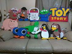 Toy Story Baby, Toy Story Theme, Toy Story Birthday, 1st Birthday Party Supplies, 2nd Birthday Parties, Baby Birthday, Birthday Ideas, Cumple Toy Story, Festa Toy Story