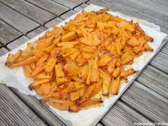 Courge Butternut façon country potatoes »