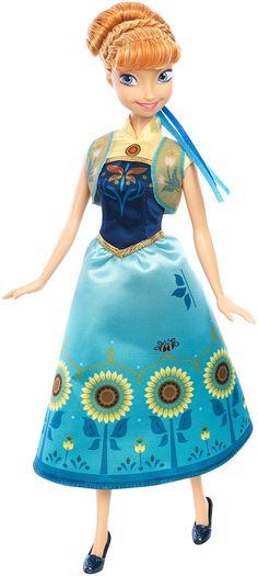 Amazon.com: Disney Frozen Fever Anna Doll: Toys & Games