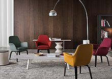 "YORK ""LOUNGE"" - Designer Chairs from Minotti ✓ all information ✓ high-resolution images ✓ CADs ✓ catalogues ✓ contact information ✓ find your. Living Room Modern, Living Room Designs, Living Room Decor, Chair Design, Furniture Design, Furniture Board, Bamboo Dining Chairs, Lounge, Room Chairs"