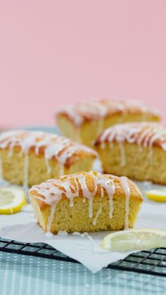 Who said lemon drizzle needs to be a cake? These loaves will change it forever