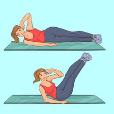 Get Rid Of Love Handles Home Workout For Women - Rudimentary Factors In Women's Home Exercise Programs - An Update - Fit Joy Home Exercise Program, Workout Programs, Programe Sport, Easy Workouts, At Home Workouts, Yoga Workouts, Workout Gear, Windshield Wiper Exercise, Upper Body
