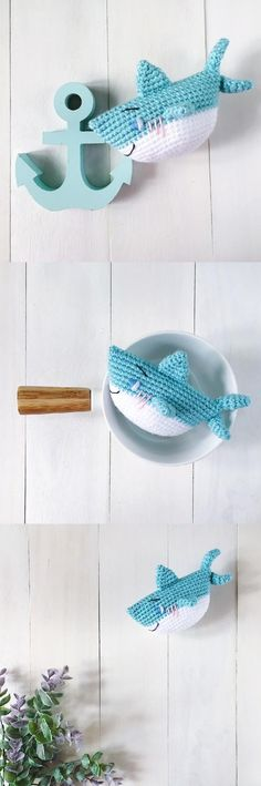 Master Aoi the baby shark by amigurumei amigurumi pattern