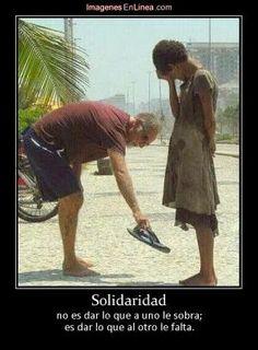 Cuanto tenemos que aprender de las personas como la Madre Teresa de Calcuta, Nelson Mandela etc