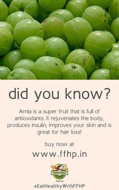 Amla - A Natural Rejuvenater