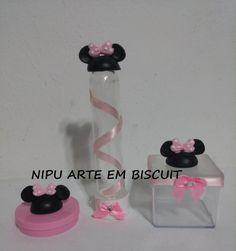 Kit Festa 110 Itens Em Biscuit Mickey Mi