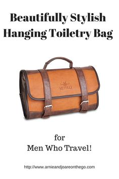 Beautifully Stylish Hanging Toiletry Bag for Men Who Travel e89bc0ea3f027