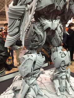 image_zpsjyjmjhpq Prime-1 Studio Transformers Age Of Extinction Galvatron Statue At Wonder Festival 2015