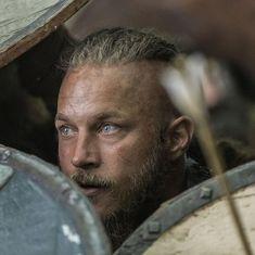 "Lagertha: ""Dark shapes come to me at night. Ragnar Lothbrok Vikings, Lagertha, Vikings Tv, Bracelet Viking, Viking Jewelry, Thor, Viking Shop, Floki, Travis Fimmel"