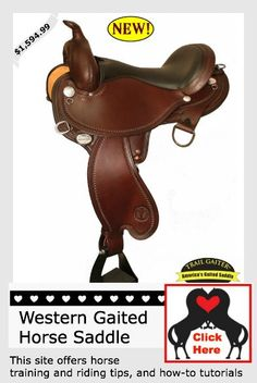 A western gaited horse saddle you are sure to love.