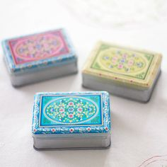 tin trinket box by the other duckling | notonthehighstreet.com