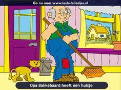 Opa Bakkebaard heeft een huisje Grandparents Day, Music For Kids, Love And Light, Videos, Preschool, Youtube, Children, Fictional Characters, Net