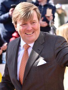 koning Willen Alexander op koningsdag 2017. hij wordt 50jaar.