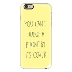 Can't Judge Yellow by Sophia Elias - iPhone 6s Case,iPhone 6... ($40) ❤ liked on Polyvore featuring accessories, tech accessories, fillers, iphone case, iphone cases, apple iphone cases, iphone cover case and slim iphone case