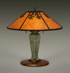 Delicieux Mica Lamp Shades | Arts And Crafts Lighting | Bungalow Table Lamps |  Ephraim Pottery |