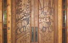 would love to have my entry door wood carved. Imagine the possibility's