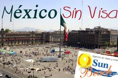 Disfruta de unos de los destinos más maravillosos del mundo, México y ahora sin Visa desde #Cali, #Colombia. #Reserveplandeviaje o en www.sunbeachcali.com