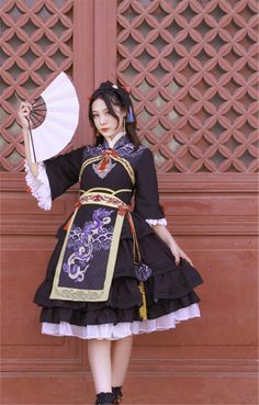 Southern Wood~ Qi Lolita JSK Dress -Pre-order