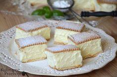 napoleonka na herbatnikach Cute Desserts, No Bake Desserts, Delicious Desserts, Yummy Food, Baking Recipes, Cake Recipes, Dessert Recipes, 5 Ingredient Desserts, Biscuit Sandwich