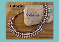 Tutorial Margaret SuperDuo Tila Necklace PDF by Lirigal on Etsy, $8.00