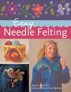 I may check out this book. Needle Felting Kits, Wet Felting, Sewing With Nancy, Wool Art, Felt Dolls, Felt Art, Pet Clothes, Rug Hooking, Felt Crafts