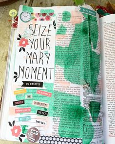 Mary and Martha Devotion from Illustrated Faith in my journaling bible. See this…