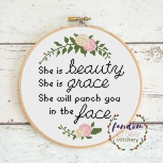 Funny Cross Stitch Patterns, Cross Stitch Designs, Cross Stitch Kits, Funny Embroidery, Embroidery Patterns, Cross Stitching, Cross Stitch Embroidery, Cross Stitch Quotes, Le Point