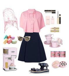 Designer Clothes, Shoes & Bags for Women Fashion Sets, Fashion Women, Women's Fashion, Sugar Angel, Narciso Rodriguez, Golden Goose, Miu Miu, Polyvore Fashion, Fendi