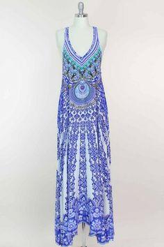 Camilla V-Neck Dress | Camilla Franks Kaftans