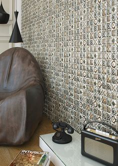 Tiles from Argenta ceramica. Thinking to use it for bathroom. Mix of Marokan and Portuguese style
