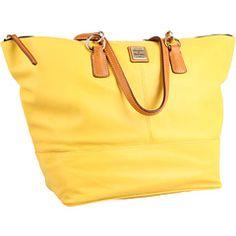 Dooney & Bourke in yellow - pretty