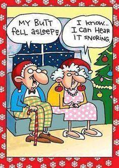 Old People @ Christmas