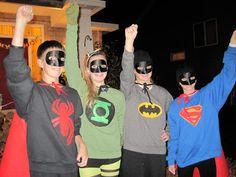 the vintage umbrella: Let's make Halloween costumes!