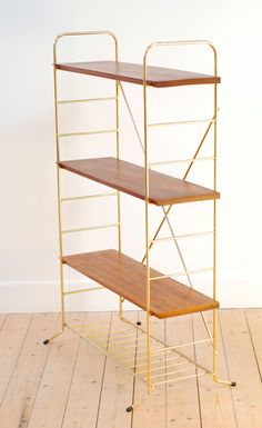 Tag re murale string regal ann es 60 vintage 180 euros furniture storage - Etagere faible profondeur ...