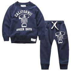 Find More Clothing Sets Information about 2pcs Children's Letter Print Clothing Set Kids 100% Cotton Sports Suit Boys Girl O Neck T shirt + Sweat Pants Sweatshirt Clothes,High Quality clothing maternity,China clothes band Suppliers, Cheap clothing styles for men from Witness the Growth of Children on Aliexpress.com