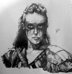 Lexa by bottledoxygen