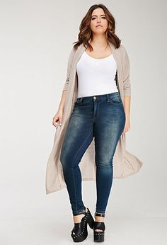 Best Plus Size Skinny Jeans - Top Rated Plus Size Stretch Fit Skinny Jeans