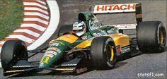 Mika Hakkinen  Lotus  107 - FORD HB V8