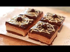 Cheesecake Sin Horno de Mantequilla de Cacahuete, Dulce de leche y Chocolate - YouTube