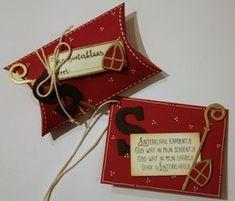 Kom op 18 en 19 november 2016 ook zo'n doosje, kadolabel of kaart maken. Voor Sinterklaas of kerst.
