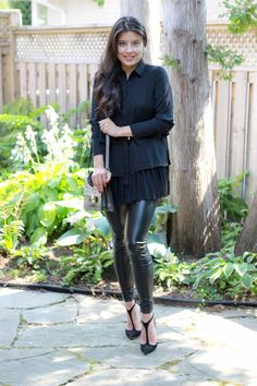 All Black Everything - outfit post from Jocelyn Caithness, a Toronto Lifestyle blogger