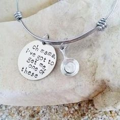 Disney - Bangle - Jewelry - Hand Stamped - Tangled - Frying Pan - Stamped Jewelry - Christmas Gift - Stocking Stuffer - Stainless Steel