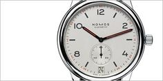 The Club Automatic Datum watch by Nomos holds functionality in high regard, with similarities akin to Bauhaus and German Werkbund. For more information on this Watch visit the website.
