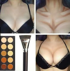 How to get a perfect cleavage <3