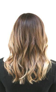 HAIR soft bronde balayage