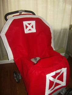Halloween Baby Stroller Costume Ready to Ship by mapletree2000, $125.00