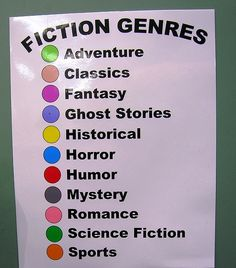 Fiction Genres | Flickr - Photo Sharing!